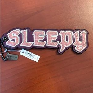Coach Disney bag Charm- Sleepy